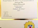 """Dr Andrzej Ostaszewski Ambasadorem Fundacji """"Dr Clown"""""""